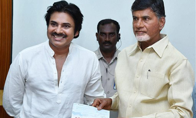 Pawan Losing faith on Chandrababu and TDP